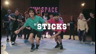 """Sticks"" - Stunna 4 Vegas feat. DaBaby   @KANGFRVR x @j4ckson7 Choreography"