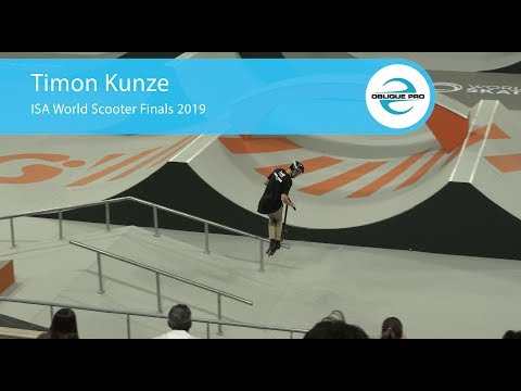 Timon Kunze - ISA Men's World Scooter Semi Finals 2019