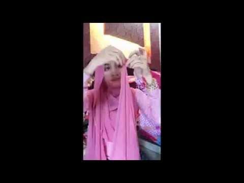 Video tutorial hijab pashmina paling cantik untuk acara pesta