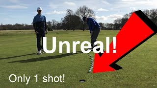 ONLY 1 SHOT IN IT!!! - Course Vlog