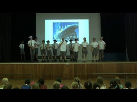 Year 8 Assembly Performance - Titanic