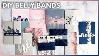 11 Easy DIY Belly Band Ideas For Elegant Cards And Invitations