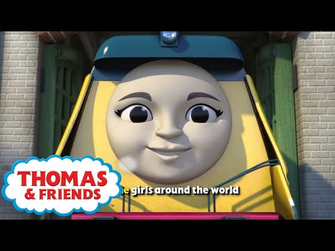 All The Girls Around The World 🎵Thomas & Friends UK Song 🎵Songs for Children 🎵Sing-a-long 🎵