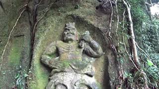 ナナハン爺さんの鹿児島雨の日はナビ車で摩崖仏清泉寺跡摩崖仏その3