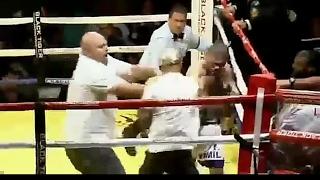 Тренер нанес боксеру 5 чистых ударов и не пропустил не одного