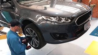 Ford Falcon Brake rotor and Pad Upgrade