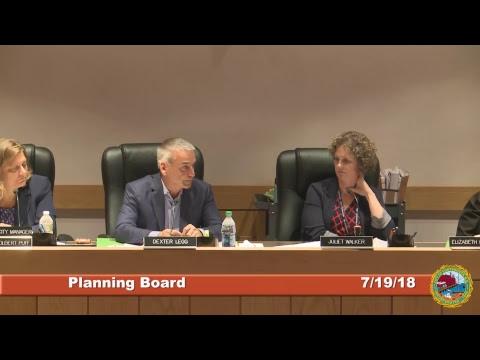 Planning Board 7.19.18