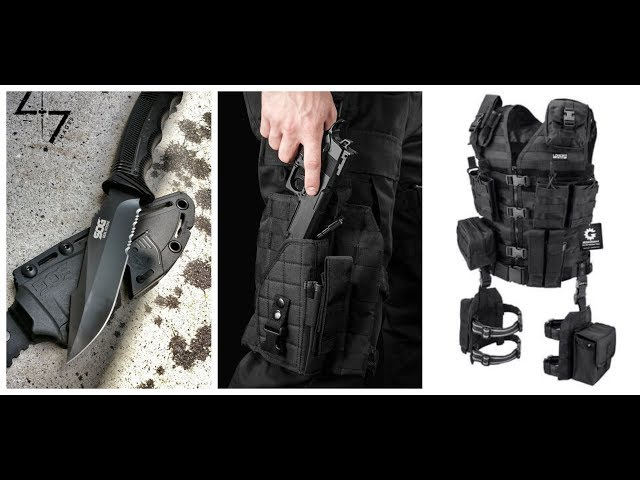 10 Amazing Tactical & survival Gear You Need To See 2019 (AMAZON)