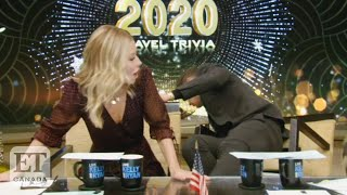 Ryan Seacrest Falls Off Chair On 'Live', Kelly Ripa's Stunned Reaction