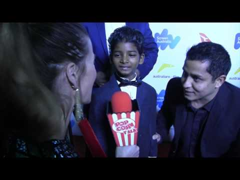 Sunny Pawar I Australian Oscar Nominees Reception I with Popcorn Talk Network host J J  Jurgens