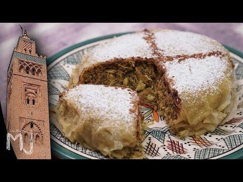 PASTELA DE POLLO MARROQUÍ   Lo mejor de Marrakech