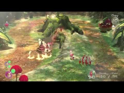 Pikmin 3 v novém gameplay traileru