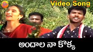 Andala Nakokka Janapadalu Video Songs Telugu || Private Folk Songs in Telugu || Telangana Folk Songs