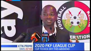 FKF partners with BETWAY in launching  cup set to kick off this weekend