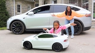 Surprised Cali With Her Dream Car!