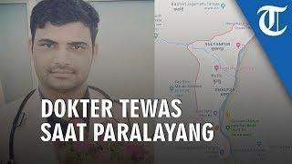 Seorang Dokter Tewas Terjatuh karena Kecelakaan Paralayang