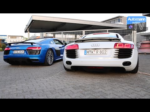 Audi  R8 Spyder Купе класса A - рекламное видео 3