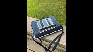 How To Make A Crossbody Jean Bag/DIY Jean Bag