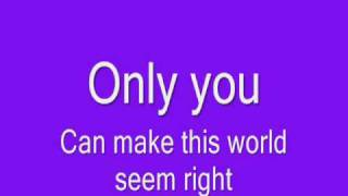 Alvin & The Chipmunks - Only You (And You Alone) [Lyrics] [HQ]