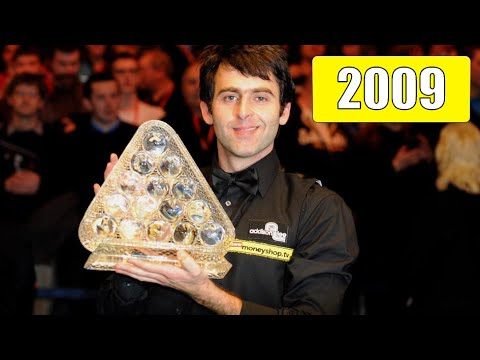 Ronnie O'Sullivan. Snooker Masters 2009! The way to the seven Masters titles