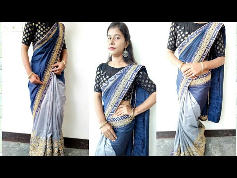 How to Drape Latest  Karwachauth Special Saree