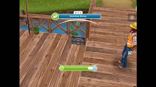 How to have 5 sims dance to Park Stereo | SIMS FREEPLAY