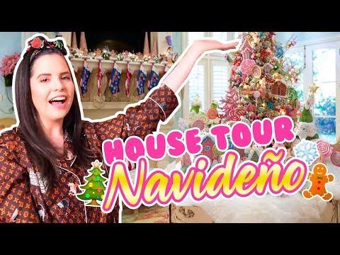 HOUSE TOUR!! DECORACION NAVIDEÑA!! Mi nuevo APARTAMENTO🎄🎁  | Camila Guiribitey