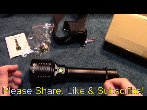 ThorFire S70s Flashlight Review!