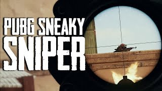 Sneaky Sniper in PUBG (Playerunknown