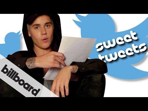 , title : 'Justin Bieber reads fan Sweet Tweets | #BieberOnBillboard'