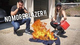 """""""Burning"""" Farshad's Blazer!"""