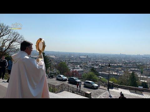 Bénédiction de Paris par Mgr Aupetit