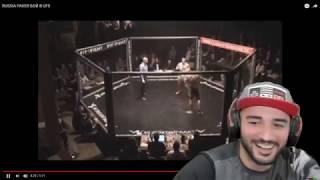 Russia Paver | О своём бое в UFC