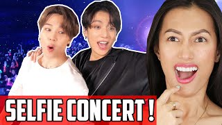 BTS (앙팡맨)   Stage Self Cam Reaction | Such Fun Seeing Their Life Selfie Fan Cam. Kpop Concert In NYC