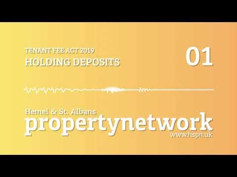 HSPN - Tenant Fee Act 2019 - Holding Deposits