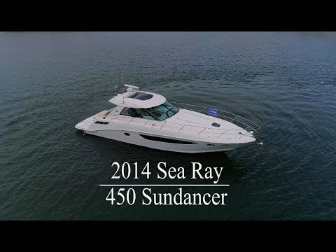 Sea Ray 450 Sundancervideo