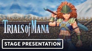 Trials of Mana Gameplay Full Treehouse Presentation - E3 2019