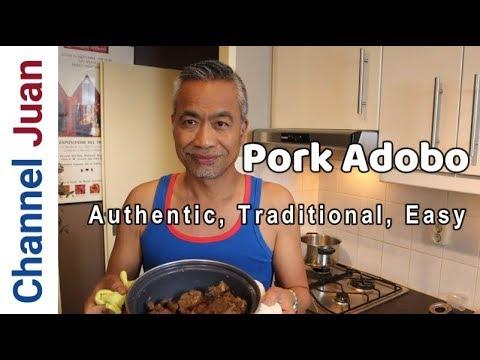 Authentic Pork Adobo Recipe – Ilocano Style(2019)