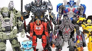Transformers 5: The Last Knight toys all set! - Bumblebee, Hound, Drift, Optimus - DuDuPopTOY
