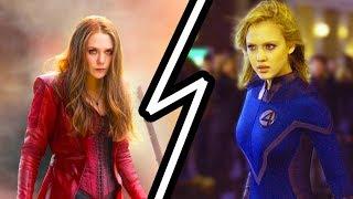 Самые красивые девушки супергерои