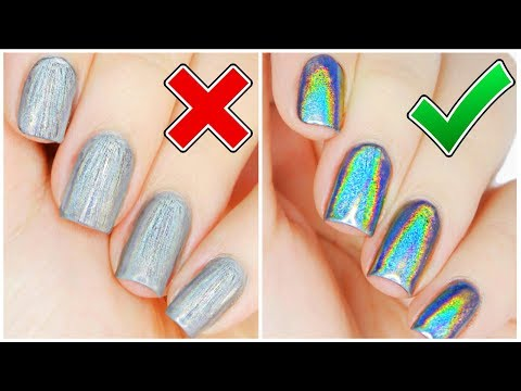5 Things You're Doing WRONG With HOLO Powder!