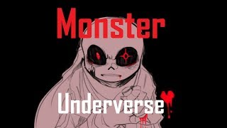 Underverse AMV / Monster - Gumi / (FLASHING IMAGES)