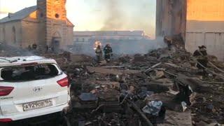 Взрыв на заводе в Гатчине