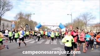 preview picture of video 'Medio Maratón Aranjuez 15 mar 15'