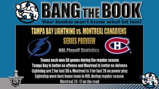 Tampa Bay Lightning vs Montreal Canadiens Game 1 Prediction