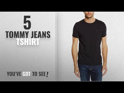 Top 10 Tommy Jeans Tshirt [2018]: Tommy Jeans Hilfiger Denim Men's Original Crew Neck Short Sleeve