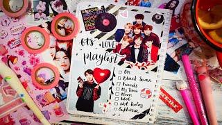 ASMR ИДЕИ ДЛЯ ЛД в стиле K-POP КОНКУРС! DIY идеи для личного дневника BTS, Black Pink и Super Junior