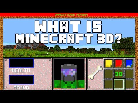 What Is Minecraft 3D (1994)?