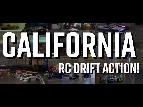 California RC Drift Action 2018! // GGT And Super-G