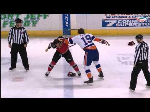 Brett Hextall vs Andrey Pedan